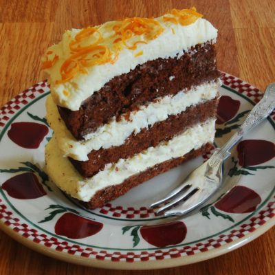 Chocolate Orange Guinness Cake