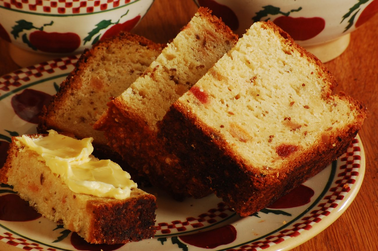 Caraway Seed Loaf Cake Recipe
