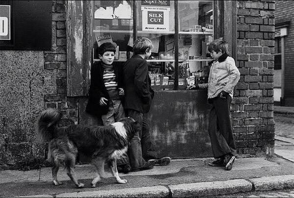 Gurriers: kids hanging around Dublin's Kevin Street in the 1950s
