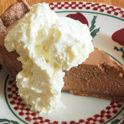 Creamy Baileys Mousse Pie