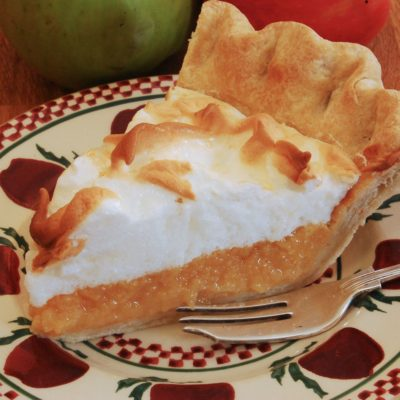 Apple Amber meringue pie